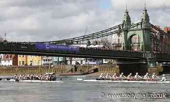 Hammersmith Bridge debacle means The Boat Race will be held near CAMBRIDGE