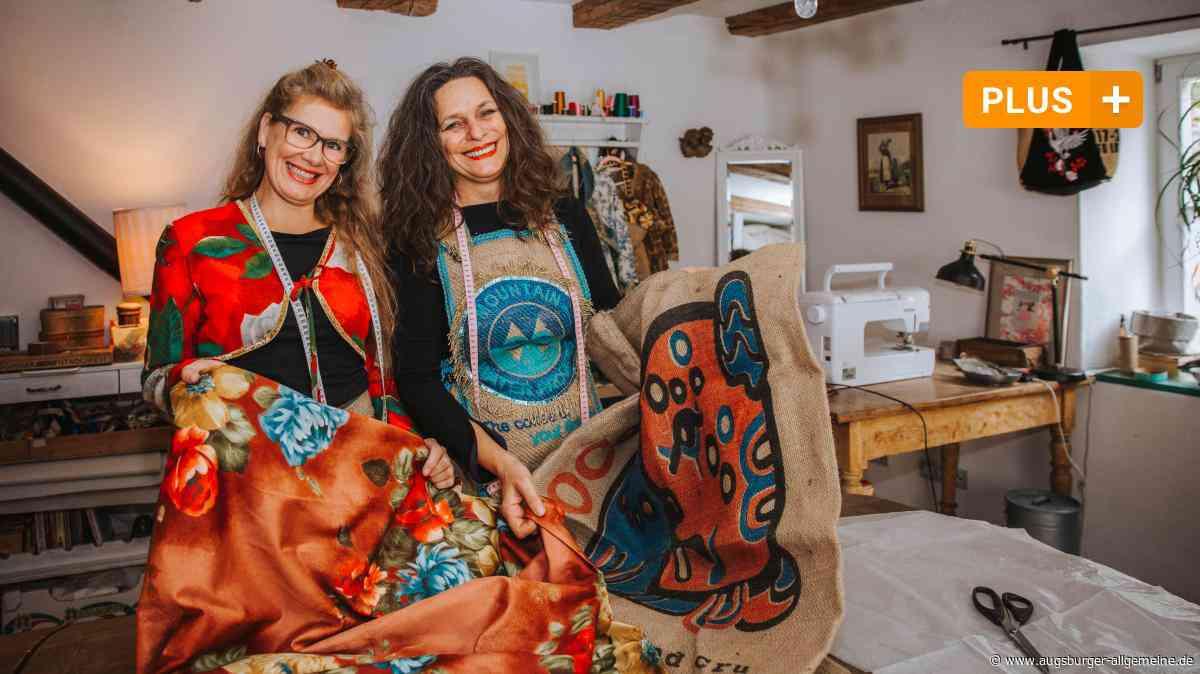 In Landsberg werden ausKaffeesäcken Designer-Klamotten