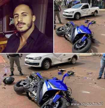 Motociclista perde a vida após acidente em Espumoso | Rádio Studio 87.7 FM - Rádio Studio 87.7 FM