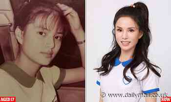 Youthful Hong Kong actress, 54, is 'amazed' she can still fit into a middle-school uniform