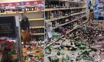 Woman smashes hundreds of bottles of alcohol in Stevenage Aldi