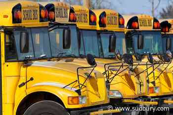 School bus runs on Sudbury side roads may be affected by icy conditions this morning