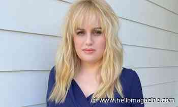 Rebel Wilson showcases tiny waist as she unveils quirky new look