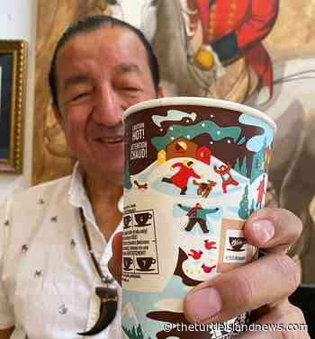 McDonald's Canada new festive cups feature Indigenous artist Philip Cote III - Turtle Island News