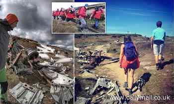 Instagram hikers are told to stop visiting plane crash site to take atmospheric snaps