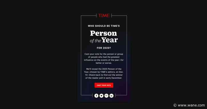 Dr. Anthony Fauci, essential workers among list of Time Person of the Year reader poll nominees