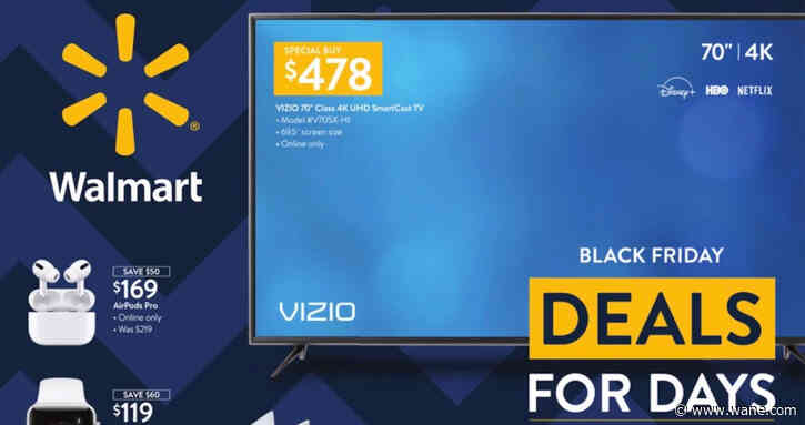 Walmart Black Friday: Here are the best deals you can find right now online