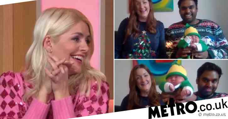 This Morning's Holly Willoughby 'totally distracted' as adorable baby steals show dressed as Buddy the Elf