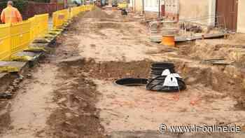 Straßenbau in Herzberg: Torgauer Straße ist erst der Anfang - Lausitzer Rundschau