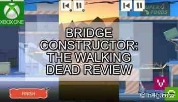 An impressive combination - Bridge Constructor: The Walking Dead Review [Video Chums]