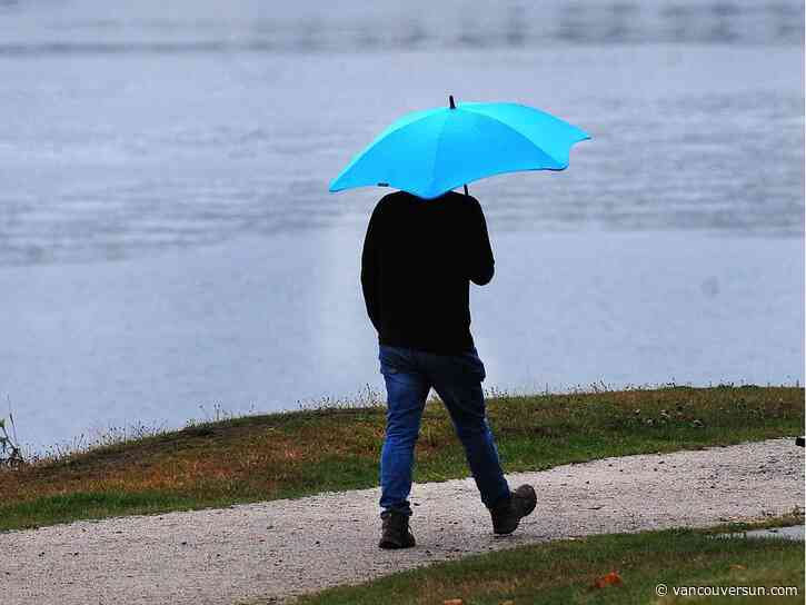 Vancouver Weather: Slight chance of showers, rain later