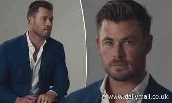 Chris Hemsworth is every inch the man of style as he promotes new project for Hugo Boss