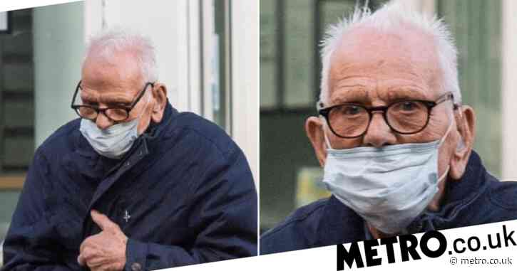 WW2 veteran, 97, 'sobbed about dead wife before groping women's breasts'