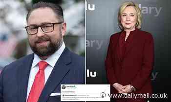 Trump advisor Jason Miller takes a pop at Clinton by saying 'Crooked Hillary' will be pardoned next