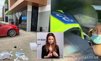 Lash technician dragged out of her car by cops at a Covid-19 checkpoint has her business targeted