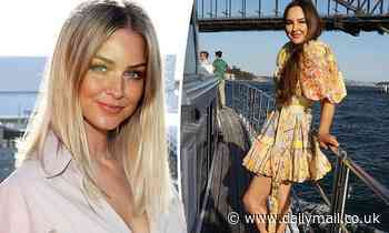 MAFS' Melissa Lucarelli and Renae Ayris attend a Sydney yacht party