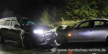 Neunkirchen-Seelscheid: Vier Verletzte bei schwerem Unfall auf Bundesstraße - Kölnische Rundschau