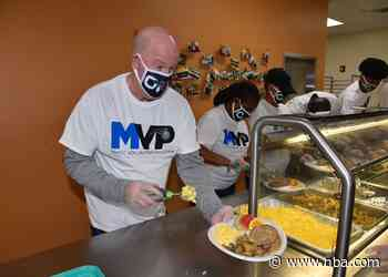 Orlando Magic Celebrate Thanksgiving at the Coalition for the Homeless for 28th Year