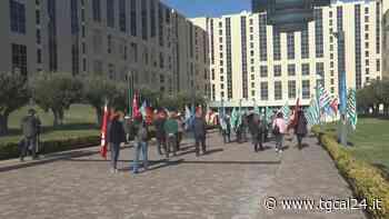 VIDEO   Sanità, i sindacati protestano alla Cittadella: «Il Governo si sbrighi a nominare il commissario - TgCal24.it