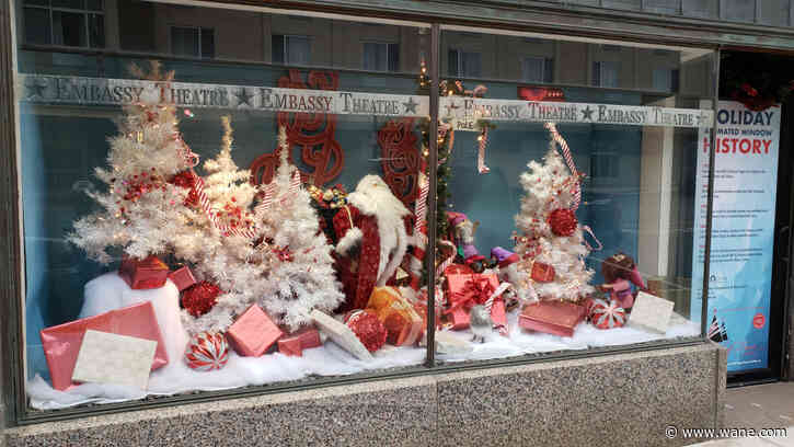 Vote to chose the Downtown Holiday Window Decorating Contest winner