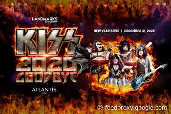 News: Kiss to welcome New Year at Atlantis, the Palm