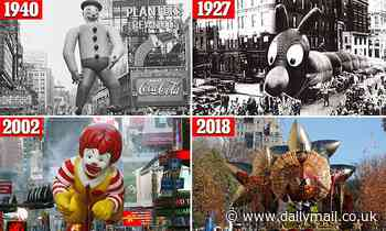 The 96-year history of Macy's Thanksgiving Day Parade in New York