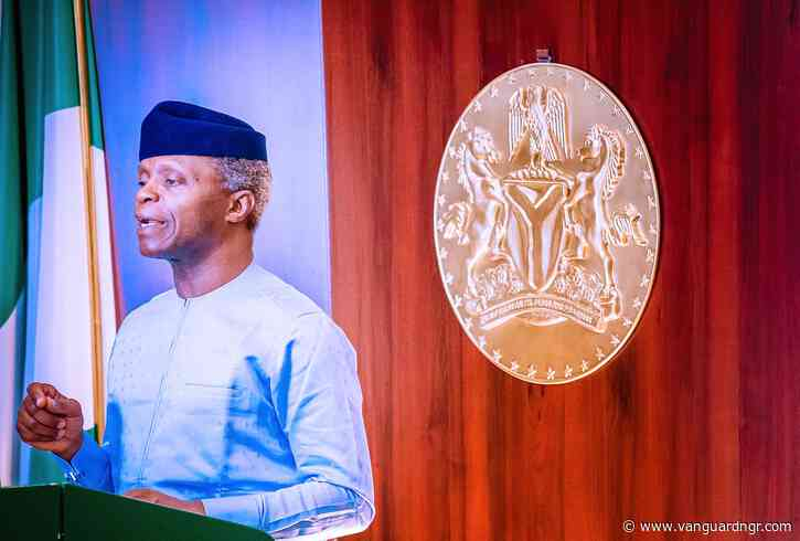 Role of private sector, critical in building virile sanitation economy — Osinbajo