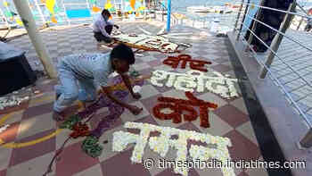 26/11 Mumbai attack: Bhopal artists pay homage to martyrs by making floral rangoli