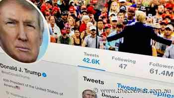 Trump losing Twitter followers every day - Ballarat Courier