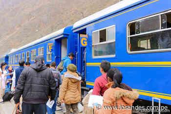 Declaran en alerta roja la vía férrea Ollantaytambo – Machu Picchu. - Los Andes Perú