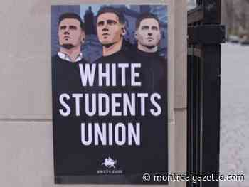 Someone's advertising a 'white students union' at McGill