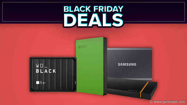 Best Black Friday SSD And HDD Hard Drive Deals
