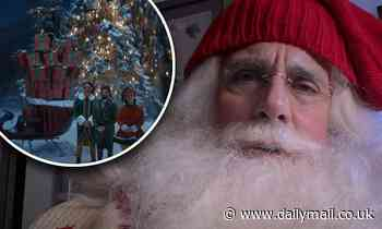 Steve Carell plays a stressed-out Santa who is 'out of ideas' after a tough year in new holiday ad