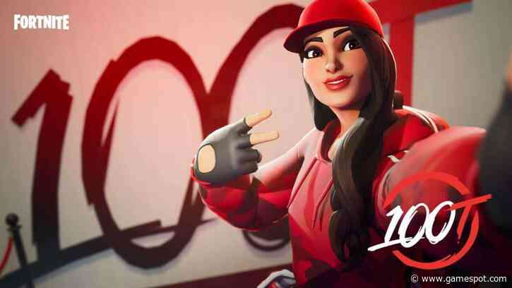 Fortnite Recreates 100 Thieves Cash App Compound In-Game