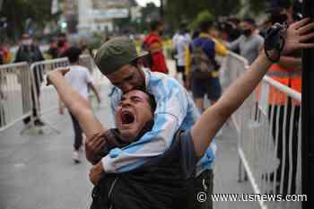 Thousands Bid Farewell to Maradona in Argentina Amid Clashes
