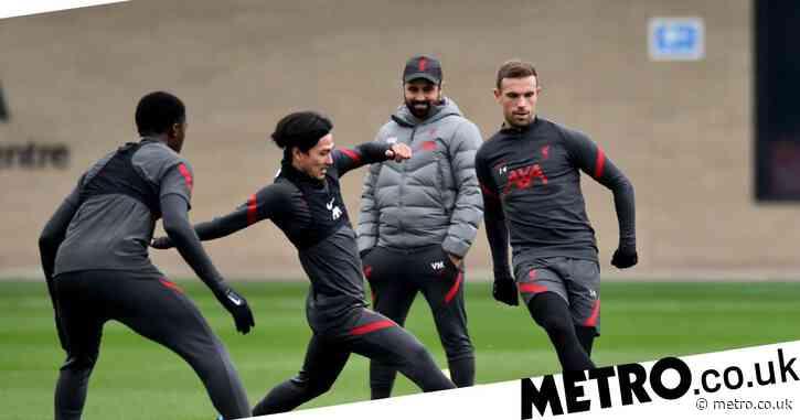 Jordan Henderson returns to Liverpool training ahead of Brighton clash