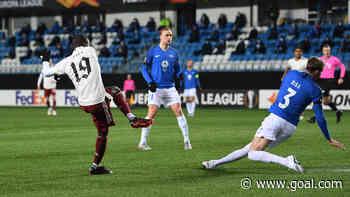 Molde 0-3 Arsenal: Pepe makes amends as Gunners reach next round