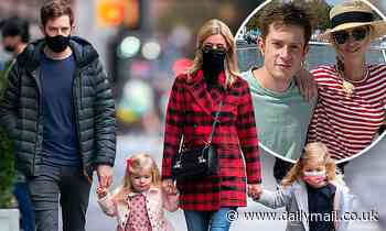 Nicky Hilton spends some quality time with her family as they go for a walk together in NYC