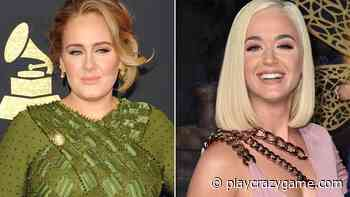 Katy Perry is perplexed since blonde hair with Adele - Play Crazy Game