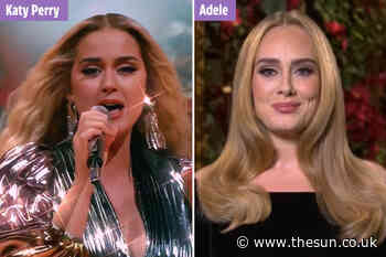 Katy Perry confused for Adele in stunning Instagram snap as shocked fans point out their striking resemblance - The Sun