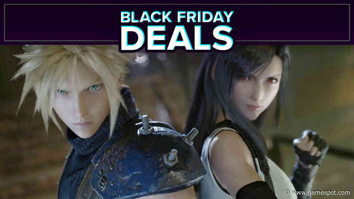 Huge Square Enix Black Friday Sale Discounts Final Fantasy 14, FF7 Remake, And More