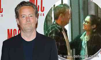 Friends star Matthew Perry, 51, is ENGAGED to girlfriend Molly Hurwitz, 29
