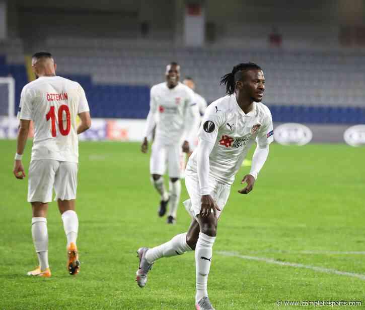 Europa: Kayode Scores Goal Number Four As Sivasspor Claim Away Win