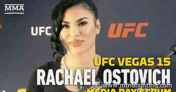 Video: Rachael Ostovich 'not a fan' of USADA after 8-month suspension, fighting for job at UFC Vegas 15