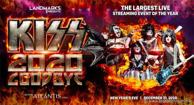 KISS: More Details Revealed For New Year's Eve 'Kiss 2020 Goodbye' Concert