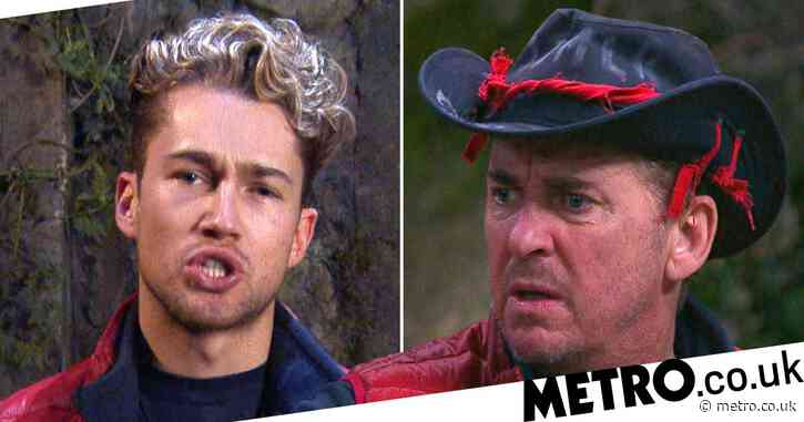 I'm A Celebrity 2020: Viewers spot AJ Pritchard giving Shane Richie 'side-eye' during tense scenes