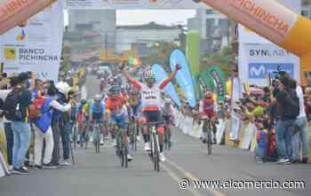 Byron Guamá se adjudicó la segunda etapa de la Vuelta al Ecuador; Cristian Toro se mantiene de líder en la general - El Comercio (Ecuador)