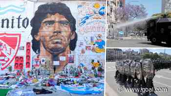 Maradona's funeral sparks clashes between mourners and police in Buenos Aires