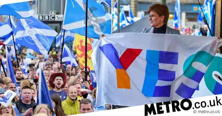 Nicola Sturgeon wants second Scottish independence referendum in next parliament