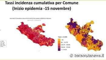 Coronavirus, tassi di incidenza nel Lazio. Quello di Cerveteri e Ladispoli superiore a quello di Roma - BaraondaNews